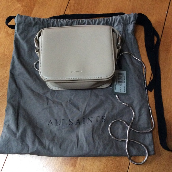 performance sportswear latest discount best selection of All Saints Ikuya Small Clutch Bag NWT